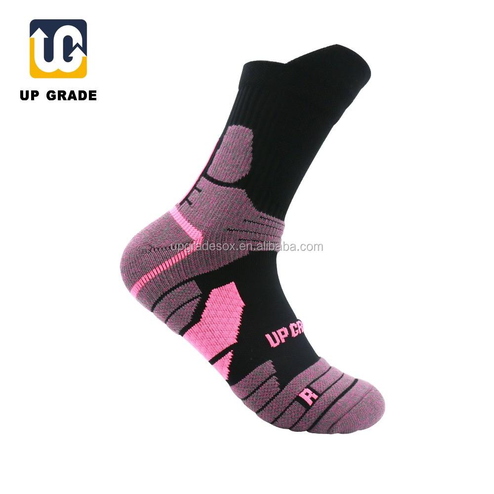 UGupgrade deportes de baloncesto primavera calcetín tejer hombre ...