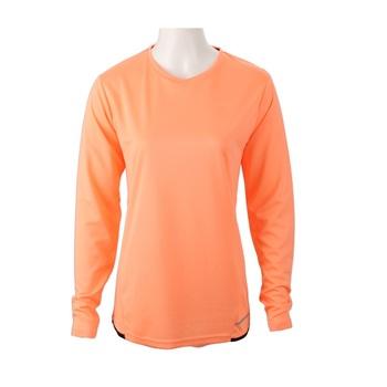83a416ef08c Girl s Pure Color V Neck Long Sleeve T Shirt - Buy Long T Shirt