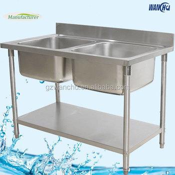 Cool Italian Restaurant Kitchen Sink Bowl Stainless Steel Kitchen Sink Stand Guangzhou Factory With Kitchen Sink Stands