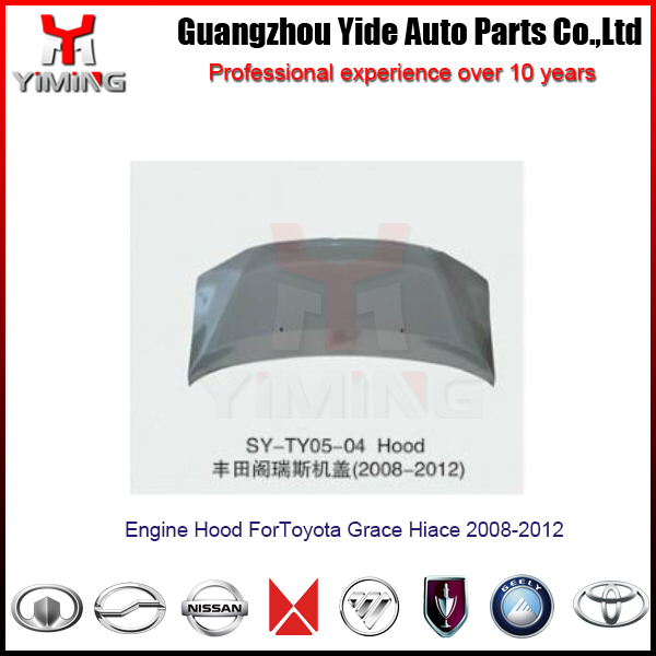Toyota hiace engine hood ,Grace Hiace Engine Hood 2008-2012