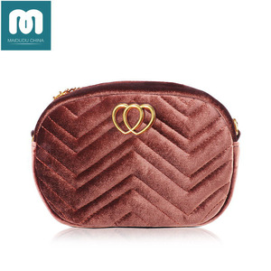 Maidudu 2018 designer lady Velour Waist Pack multi-purpose bags handbags famous brands set handbag ladies handbags women bags