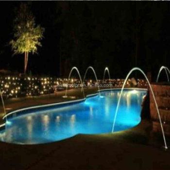 Schwimmbad Laminar Düsen Wasser Brunnen Wasserspiele