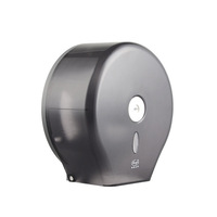 Commercial plastic jumbo roll paper towel holder black FQ-606-B