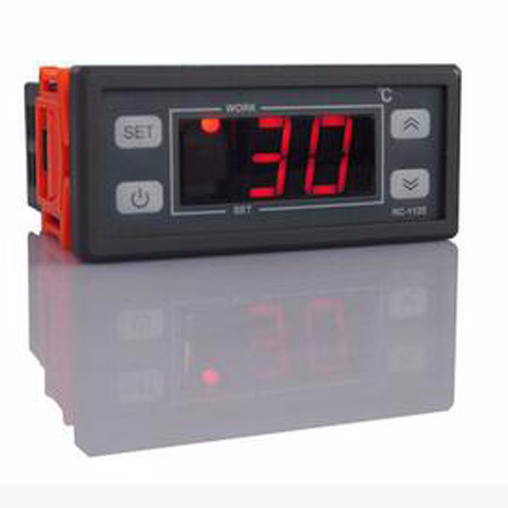 Two Relay Output Led Digital Temperature Controller Thermostat Stc 1000 Wiring Diagram For Controlled Incubator 110v 220v 10a With