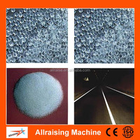 reflective glass beads for road marking paint tiny glass microspheres