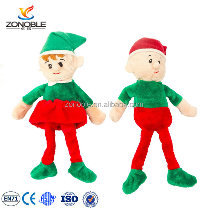 new christmas gift idea plush elf doll custom stuffed soft cute plush elf toy buy plush elf toyplush elf dollelf toy product on alibabacom