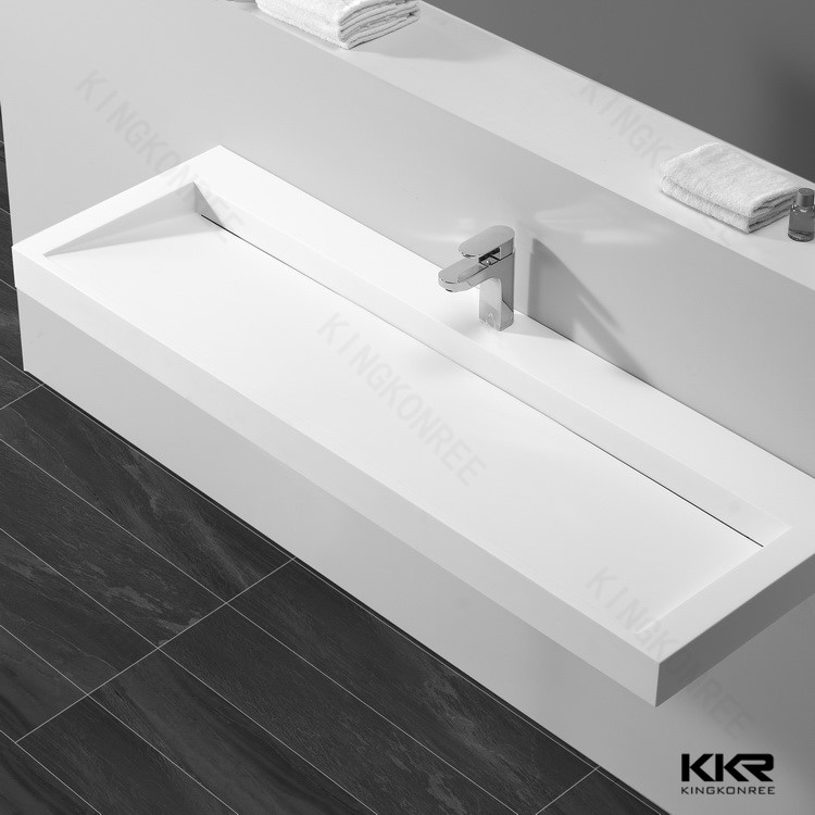 Above counter wash basin solid surface sinks marble wash for Bathroom wash basin counter designs