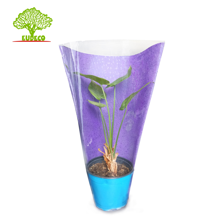 Di lusso Impermeabile 3D Sacchetto Del Fiore Fiori Artificiali Scatola Biodegradabile Manicotto Del Fiore Fornitore Della Fabbrica