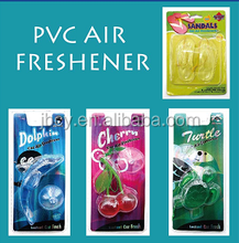 2016 good quality plastic GEL car air freshener/freshner