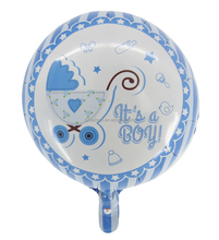 18inch baby birthday mylar balloon for party kids