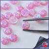 Wholesale price opal round cabochon synthetic pink opal gemstone