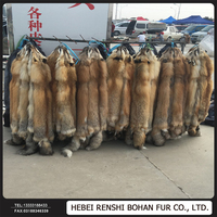 100% Real Fox Fur In Wholesale Price