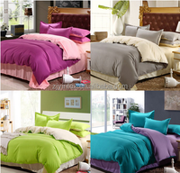 Home textiles,luxury solid color,point bedding sets include comforter cover bed sheet pillowcase,