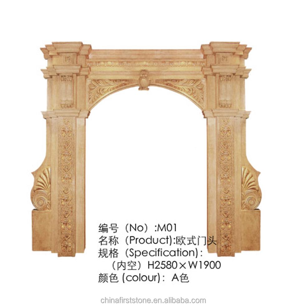 FSSC-M014 Арка дверной рамы H3260 x W3800mmArtficial песчаник резьба