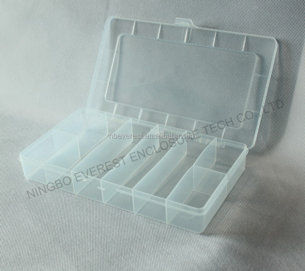 Peque as cajas de pl stico con tapa con bisagras cajas de - Caja plastico con tapa ...