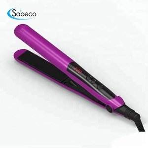 High Quality Titanium/Ceramic Infrared Flat Iron Straightening Irons Professional Hair Styling Tools