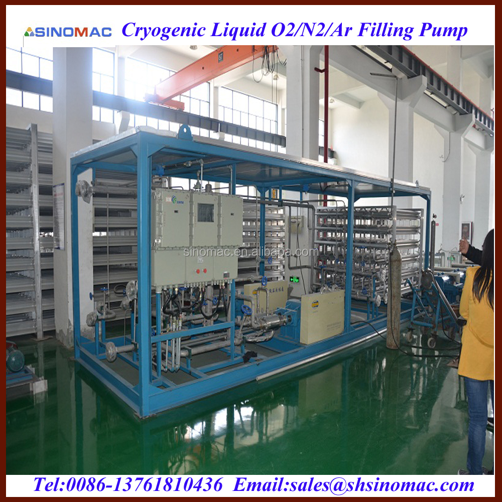 High Pressure Cryogenic LNG/LO2/LN2/Lar/LCO2 Filling Pump