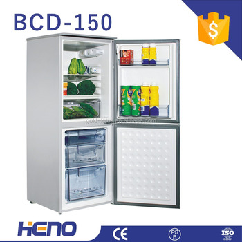 Combi Fridge Bottom Freezer Double Door Half And Half Design With CE PSE