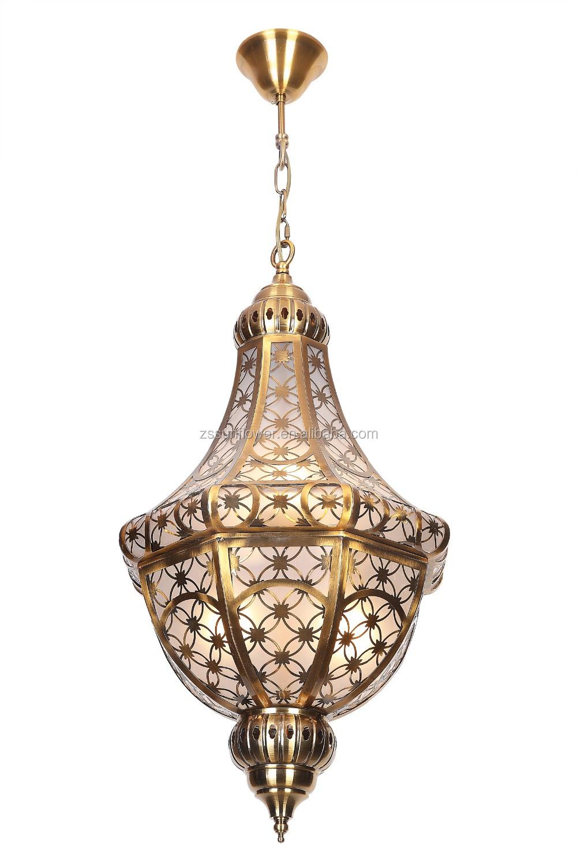 Arabic Style Brass Chandelier Light, Arabic Style Brass Chandelier ...