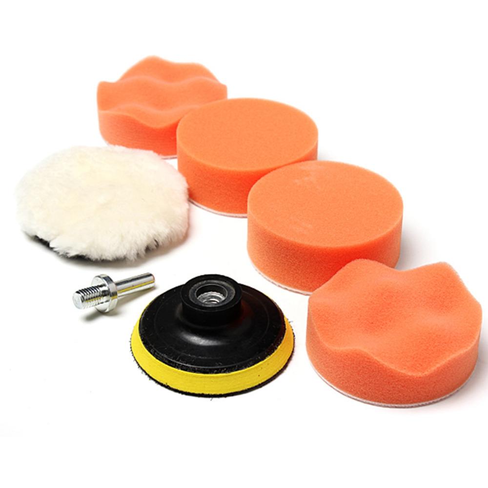 10 Pieces Set Gross Polishing Buffer Pad Set Buffing Pad: New Set Polishing Buffing Pad Kit For Car Polishing With