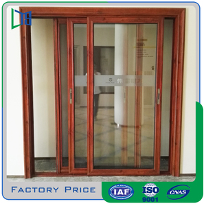 Custom made magic sliding door with flyscreen