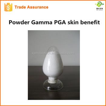 China supplier supply high quality Skin Benefit 92% Powder gamma PGA Y-poly(L-glutamic acid) macromolecule