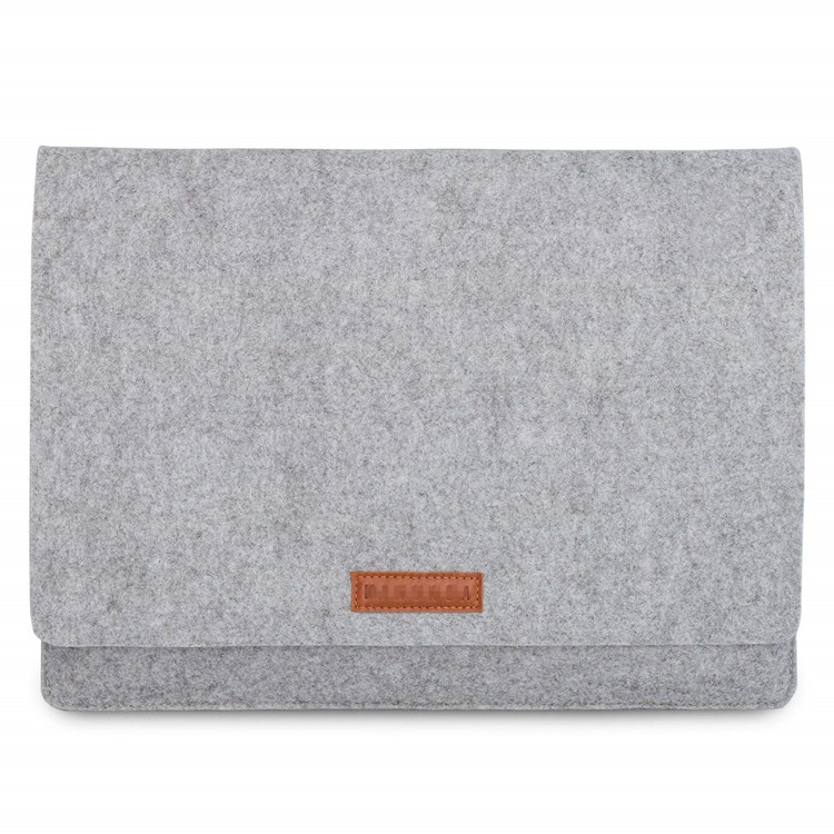 Del computer portatile di affari borsa di Feltro Del Computer Portatile di Trasporto della cassa Del Sacchetto Con La maniglia