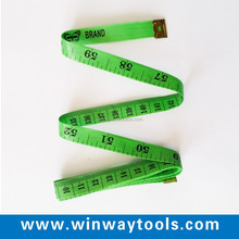 2m retractable Customized pvc Measure Body Size/ soft gift diet clothing Tape Measure to Print Logo/ tailor Measure Tape