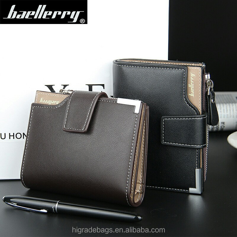 baellerry men leather <strong>wallet</strong> with coin pocket wholesale