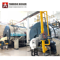 Price Industrial Commercial Fire Tube 1 Ton 2 Ton 3 Ton 4 Ton 5 Ton Lng Lpg Biogas Diesel Oil Natural Gas Fired Steam Boiler