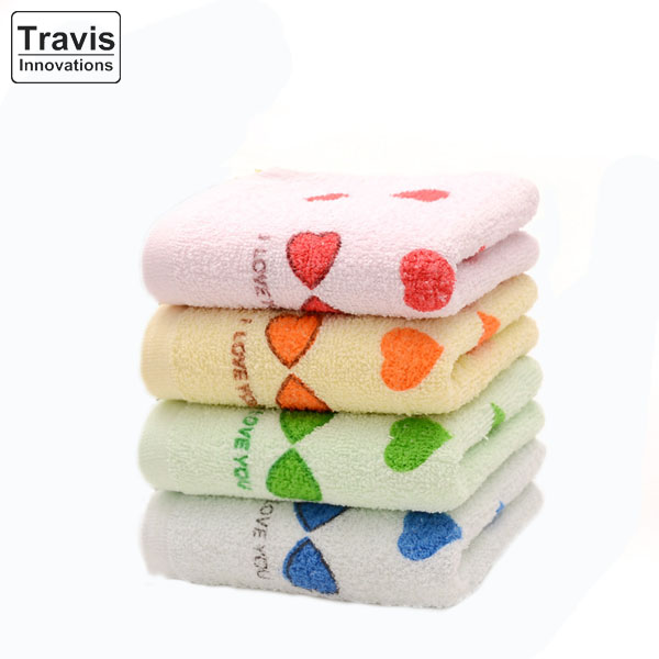 Long Staple Cotton Solid Colour Printed Patterned Hand Towels