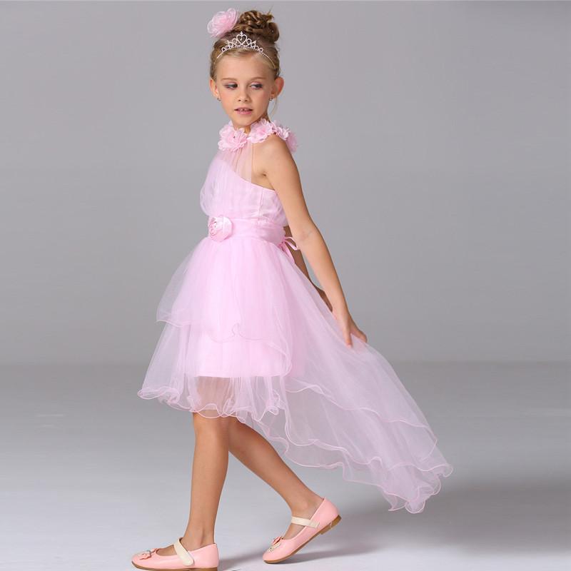 Whosesale niña noche niños princesa bonita vestido largo tren ...