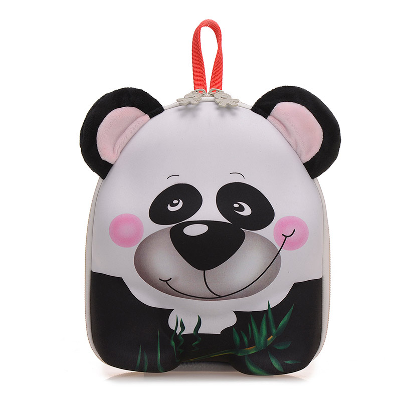 Wholesale Cute Zoo Animal Shaped Kindergarten Soft Cartoon animal bag,Backpack For Kids