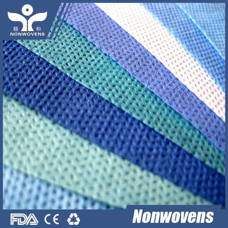 Buy Directly From China Factory Tela SMS No Tejida Wholesale AAMI Medical SMS SMMS Bed Sheet non woven fabric in Roll