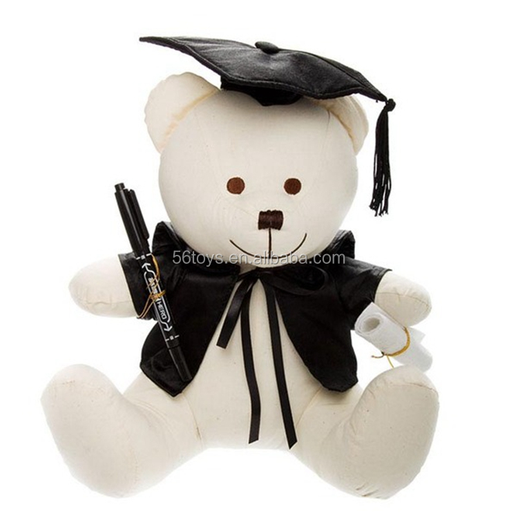 Special love for schoolmate stuffed the graduation teddy bear