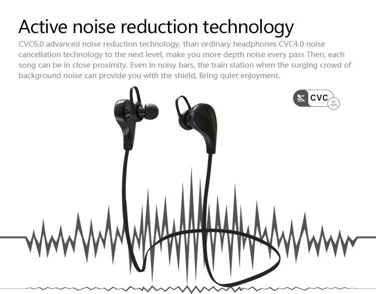 Anc 3d Bluetooth Noise Cancelling Headphone,Wireless Earplug,Ear ...