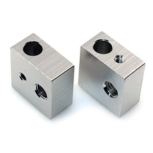 High Quality Aluminum Heater Block Custom Aluminum CNC Machining Part OEM Metal Fabrication
