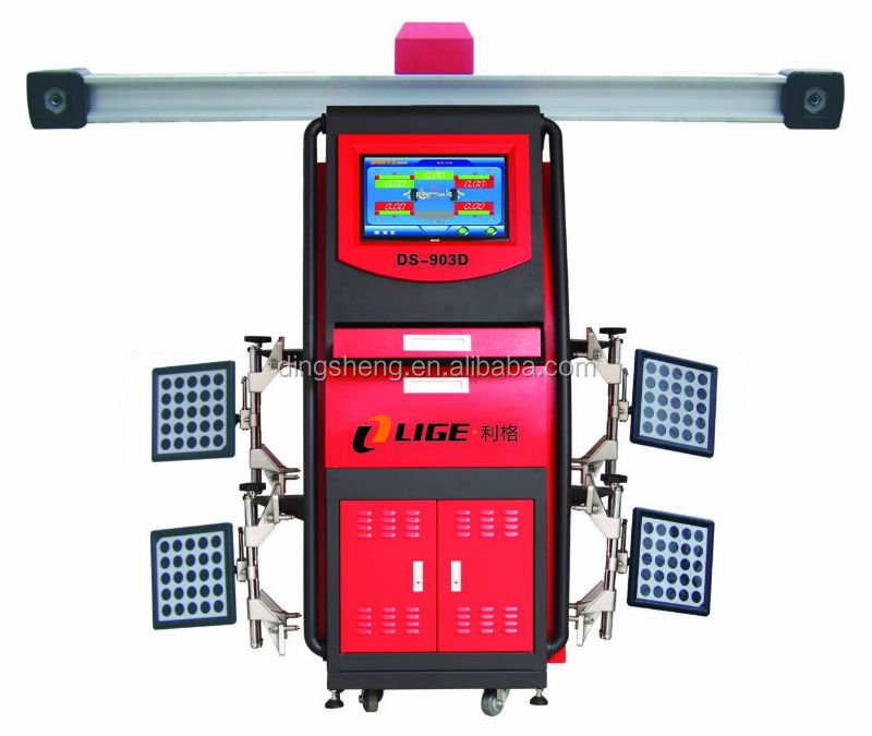 Car Diagnosis Machine Auto Aligned for 4 Wheel Alignment