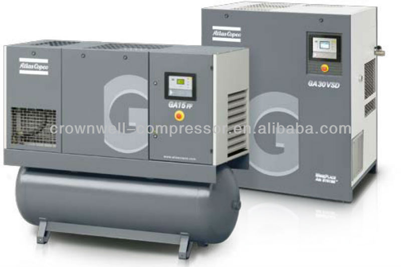 Atlas Copco Oil injected Rotary Screw Air atlas copco oil injected rotary screw air compressors(model ga15 atlas copco ga11 wiring diagram at fashall.co