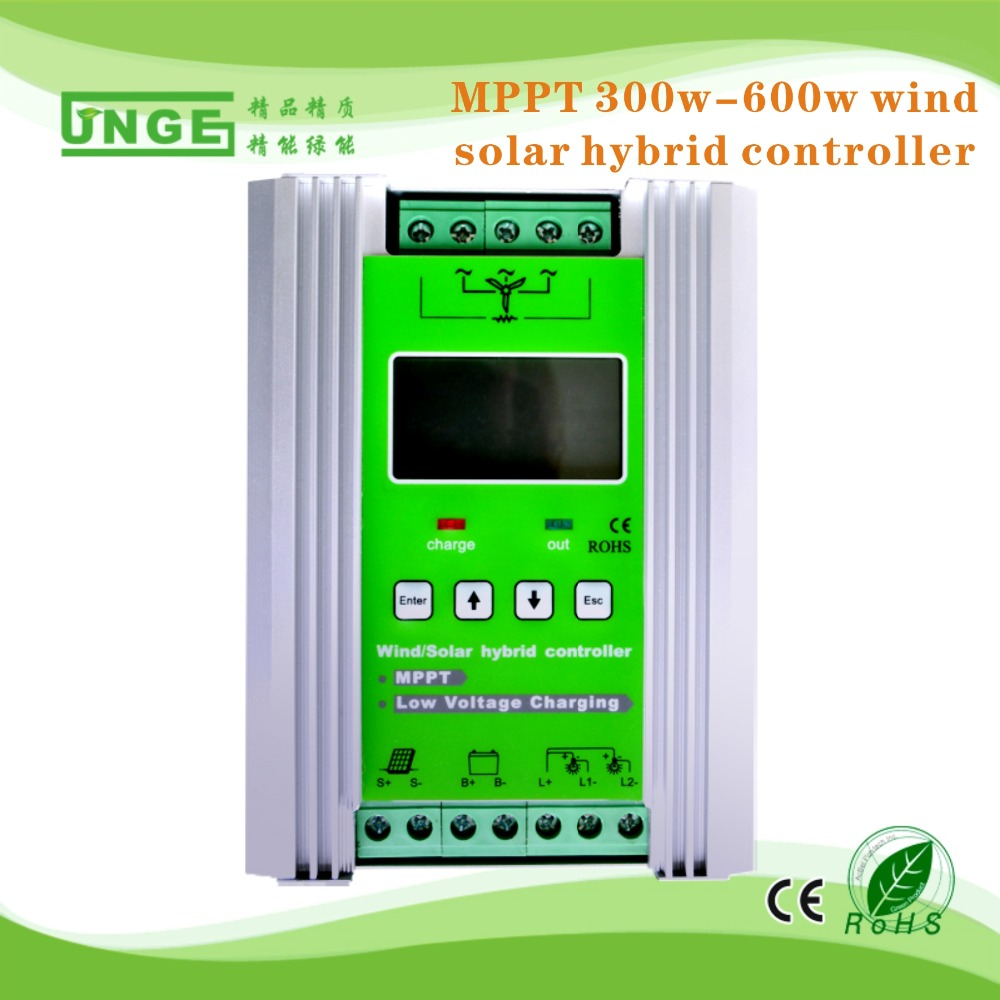 12v 24v Auto Mppt Wind Turbine Solar Pv Cell Charge Controller ...