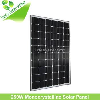 Lowest Price 230w Monocrystalline Solar Cell Panel Buy