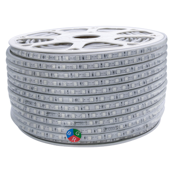 outdoor 220V 110V 120V LED Strip 5050 100m IP67 Waterproof RGB led Rope light