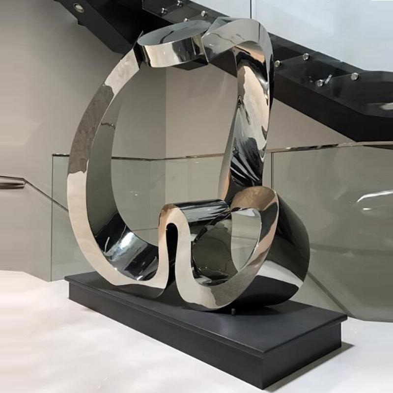 Jardin Moderne Contemporain En Acier Inoxydable Sculpture Abstraite - Buy  Sculpture En Acier Inoxydable,Sculpture Abstraite,Sculpture En Acier ...