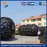 Inflatable for protecting docks and ships rubber dock fender
