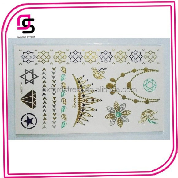 NEW Popular Fashion temporary tattoo Stickers
