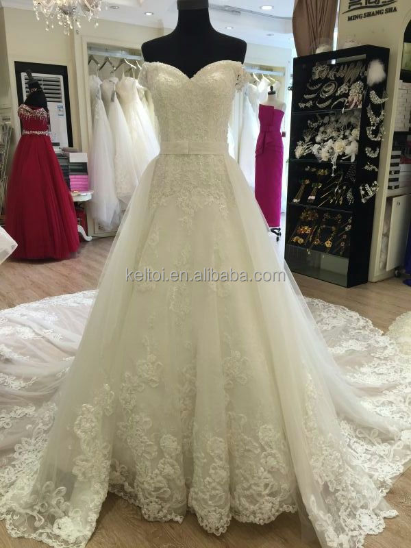 China Wedding Dresses With Detachable Train Manufacturers And Suppliers On Alibaba
