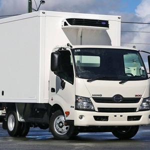 CKD/CBU High quality FRP fresh food refrigerated truck body