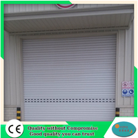 High Quality Automatic Galvanized Steel Industrial Rolling Shutter Garage Door Prices Lowes