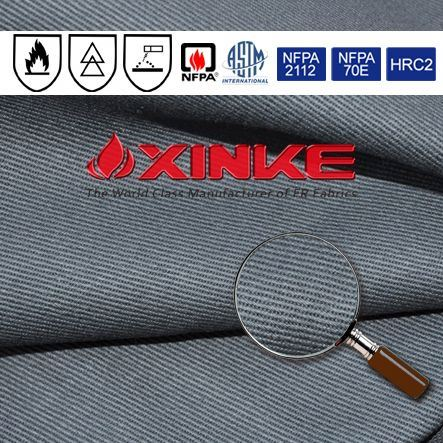 88%cotton/12%nylon twill 3/1 flame retardant fabric flame resistant fabric shirt fabric(so)