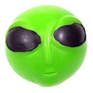Splat Ball - Alien, 2.5 inch - 6 Pack